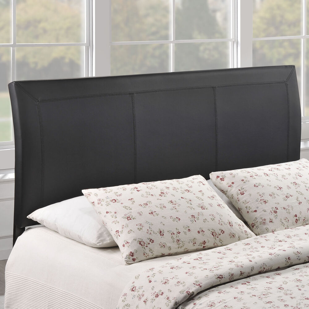 Isabella Contemporary Faux Leather Queen Size Headboard Ebay