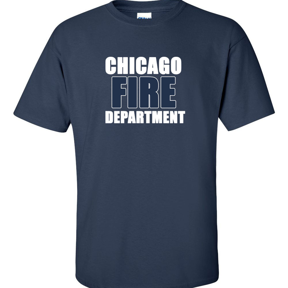 Chicago Fire T Shirt Department Tv Show Firehouse 51 Tees