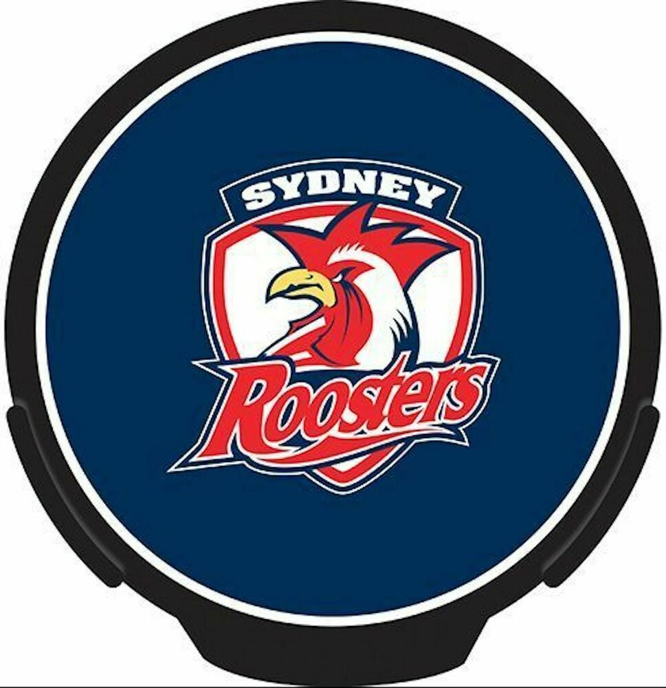 Sydney Roosters NRL LED Light Up Car Power Decal