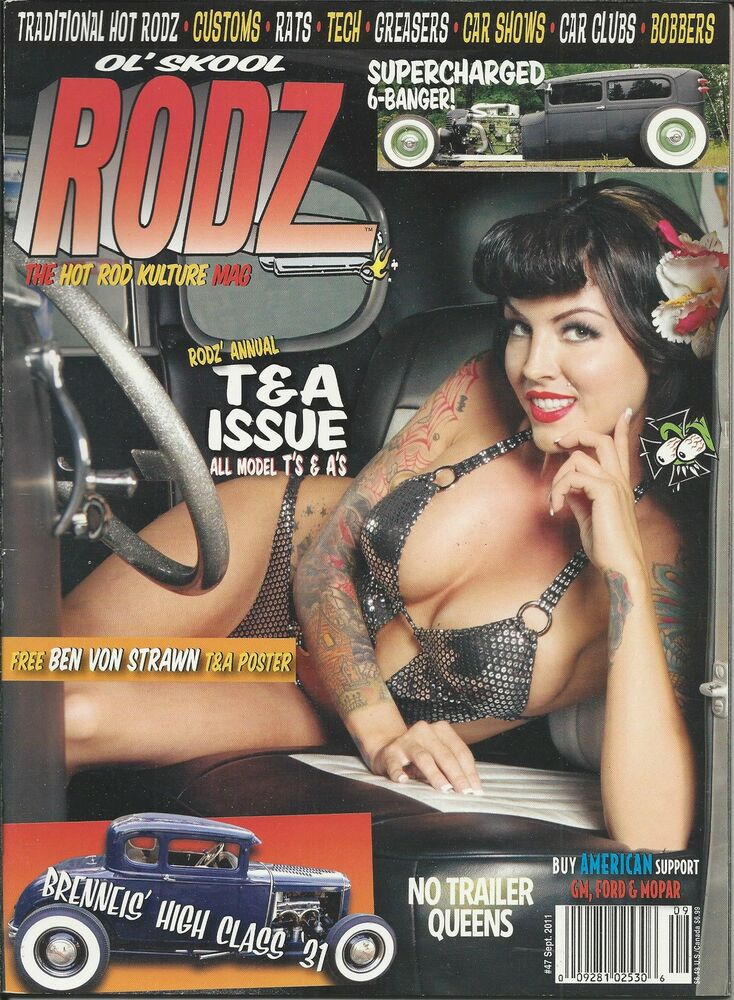 OL' SKOOL RODZ MAGAZINE - Issue # 53