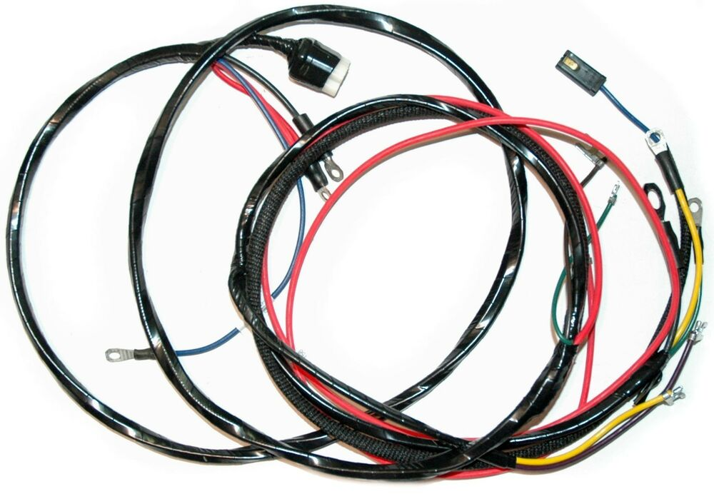 1958 61 corvette engine wiring harness new reproduction auto transmission only ebay