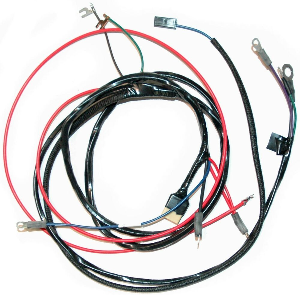 1958 62 corvette engine wiring harness new reproduction transmission only ebay