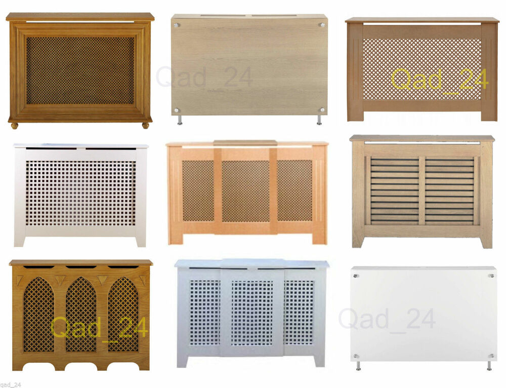 Radiator Cover Shelf Cabinet Heater Wooden Modern
