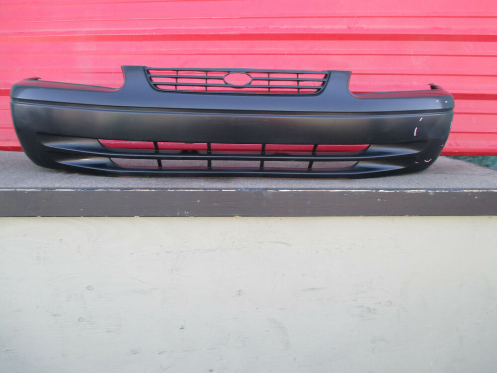 toyota camry front bumper cover oem 1997 1998 1999 ebay. Black Bedroom Furniture Sets. Home Design Ideas