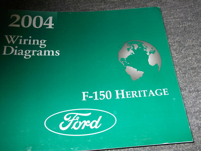 Details About 2004 Ford F 150 Truck Herie Electrical Wiring Diagrams Service Manual
