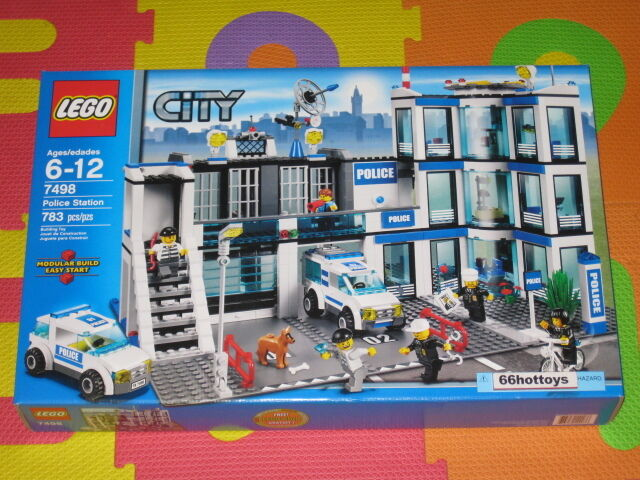 Lego Police Station 7498 Instructions Images Free Download