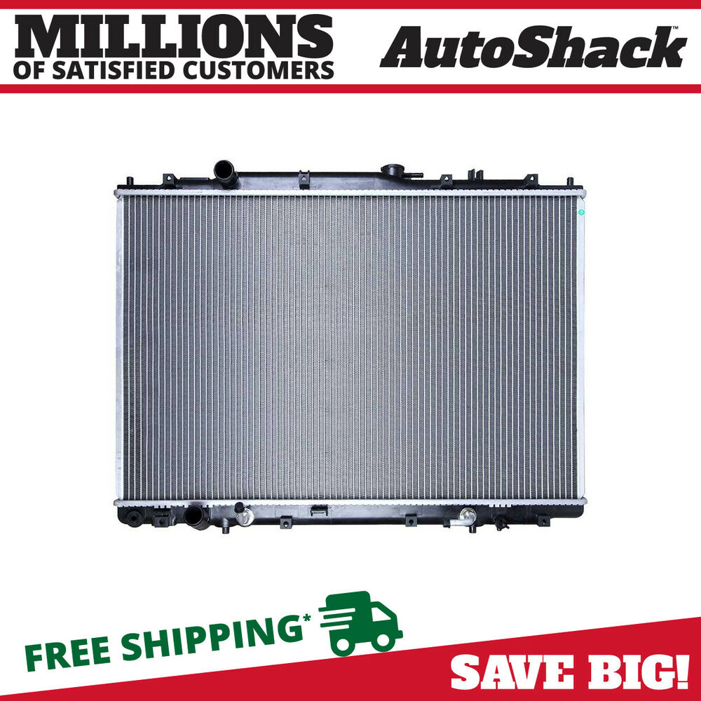New Complete Aluminum Radiator For A 03-06 Acura MDX 05