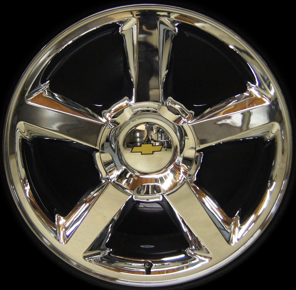 new chevy silverado tahoe suburban avalanche ltz 20 quot chrome wheels rims freeship ebay