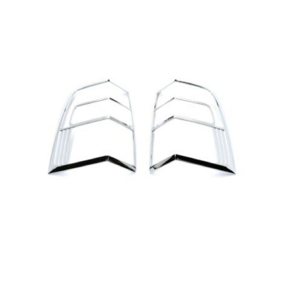 Putco 400864 Chrome Tail Light Covers For 07 09 Ford