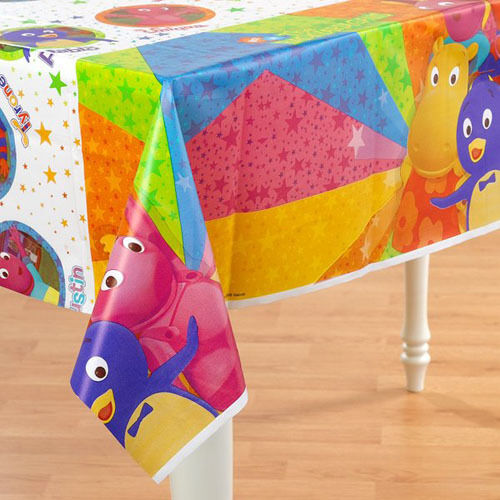 Backyardigans plastic table cover birthday party for Backyardigans party decoration