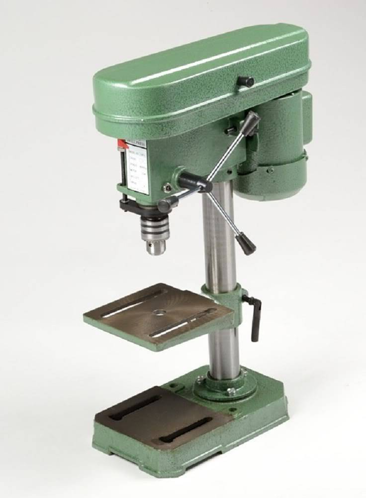 Bench Top Mini Drill Press 5 Speed for Wood or Metal Hobby Table Top ...