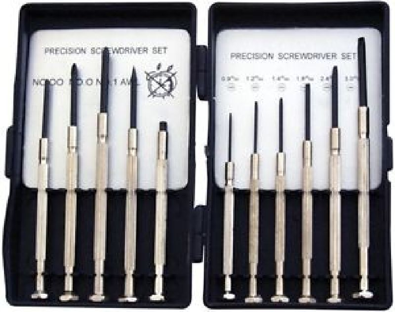 11pc precision screwdriver set micro watchmaker glasses watch jewellery repair ebay. Black Bedroom Furniture Sets. Home Design Ideas