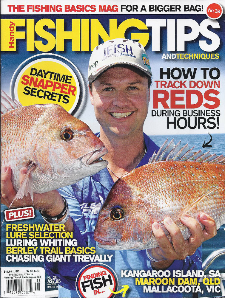 Fishing Tips And Techniques Magazine Freshwater Lure