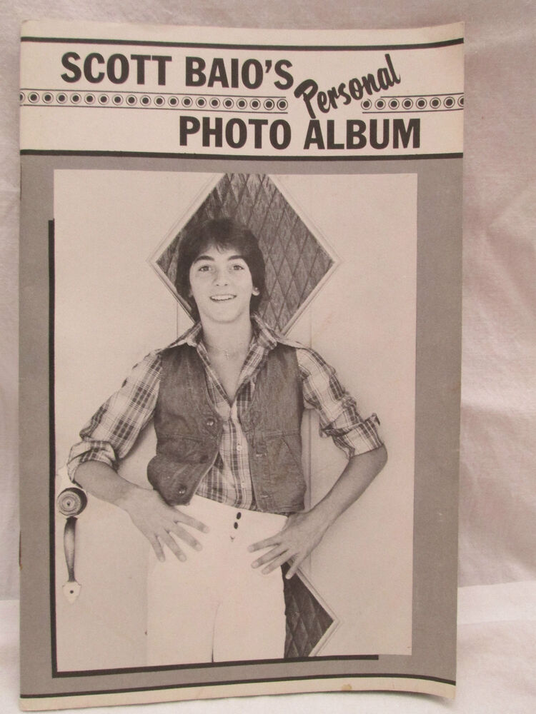 scott baio 39 s personal photo album tiger beat booklet ebay. Black Bedroom Furniture Sets. Home Design Ideas