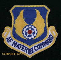 US AIR FORCE MATERIEL COMMAND HAT PATCH AFMC HQ WRIGHT PATTERSON AFB USAF