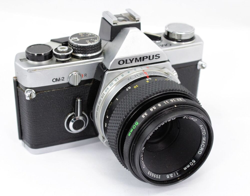 Olympus OM40 Program DX, vintage roll-film camera & lens ... |Olympus Vintage Camera