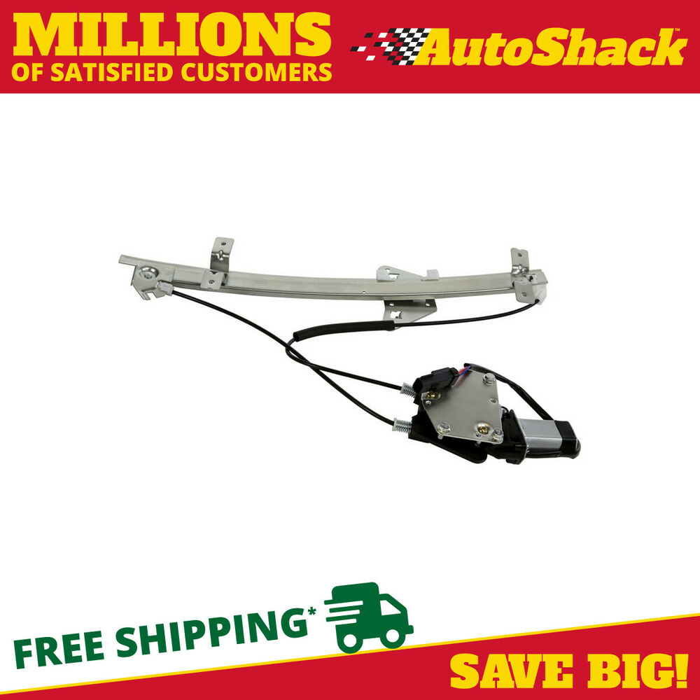 New power window regulator w motor front driver side fits for Window mechanism