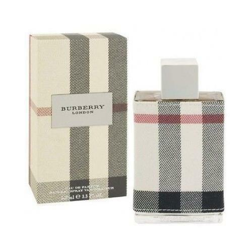 burberry london fabric edp perfume for women 3 3 3 4 new in box ebay. Black Bedroom Furniture Sets. Home Design Ideas