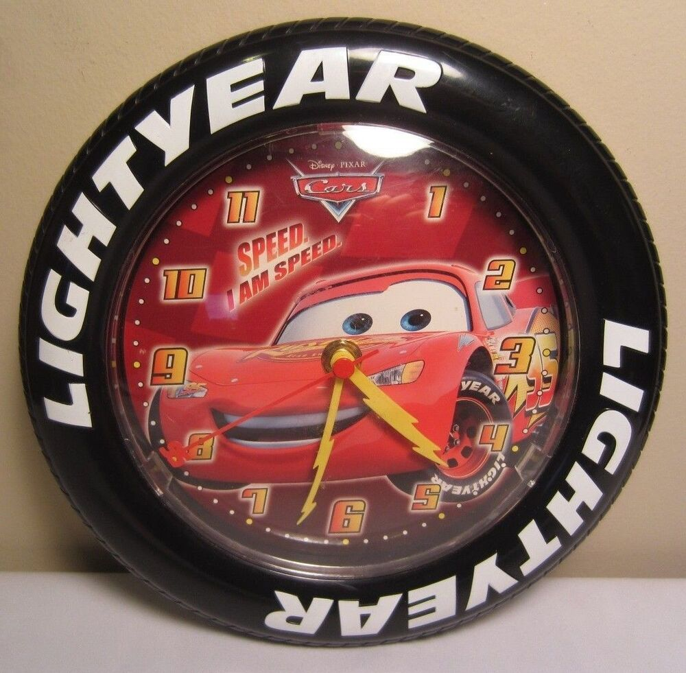 Disney Pixar Cars Movie Lightyear Tire Shaped Battery