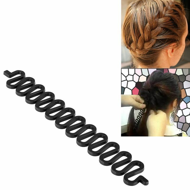 styling hair clips fashion hair styling clip stick bun maker braid tool 3869 | s l1000