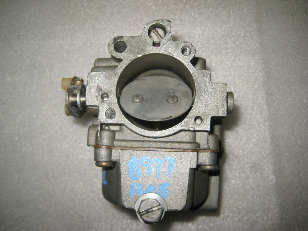 386268 lower carburetor 1975 johnson 70hp outboard model