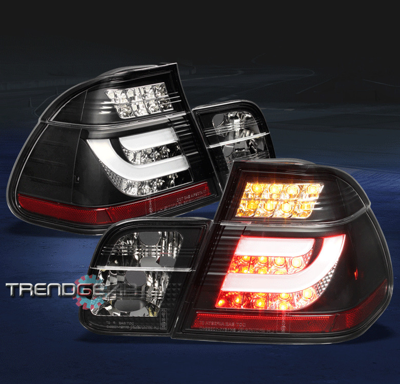 2002 2005 bmw e46 3 series 325xi 330xi 4dr led tail light. Black Bedroom Furniture Sets. Home Design Ideas