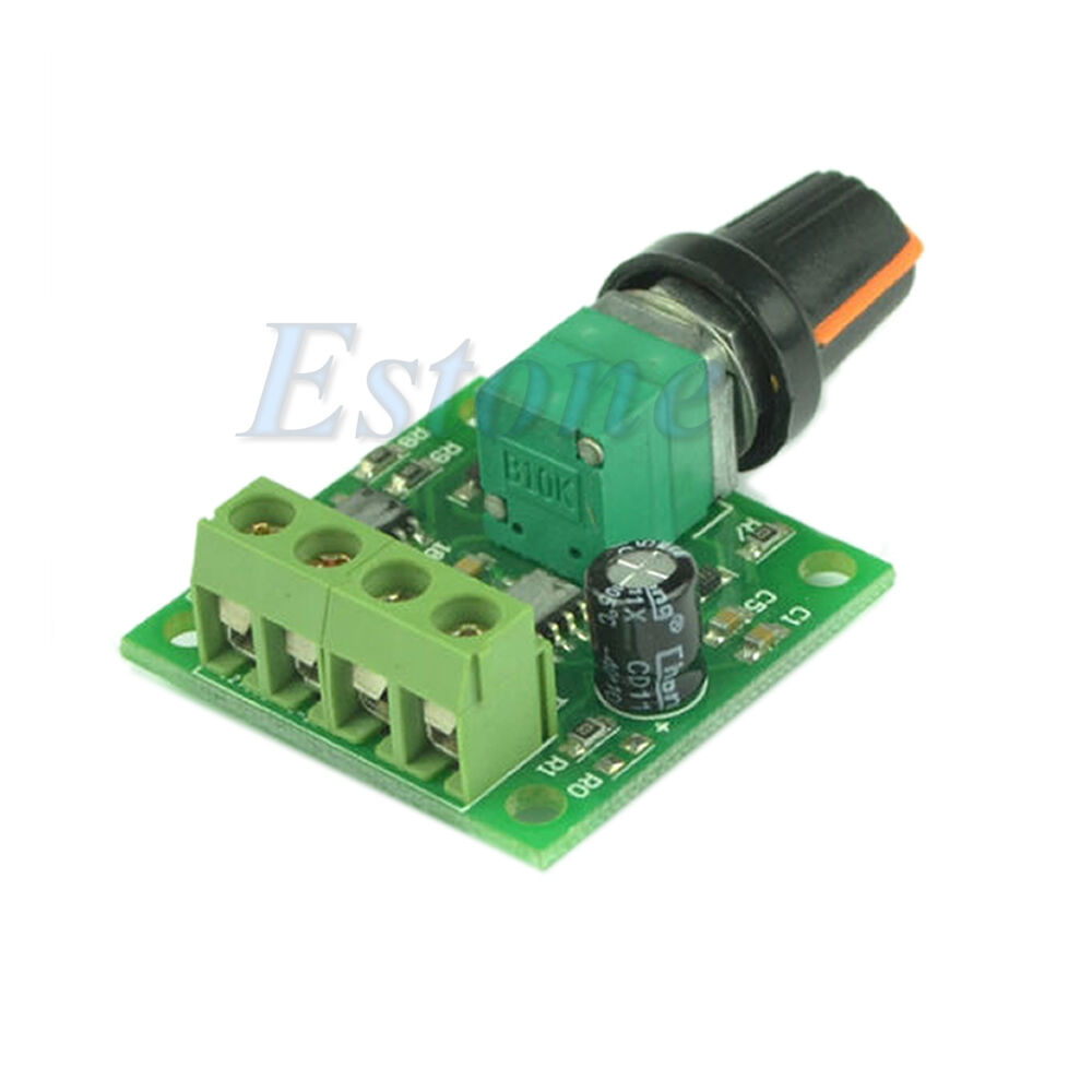 New dc 1 8v 3v 5v 6v 12v 2a low voltage motor speed for Motor speed control pwm