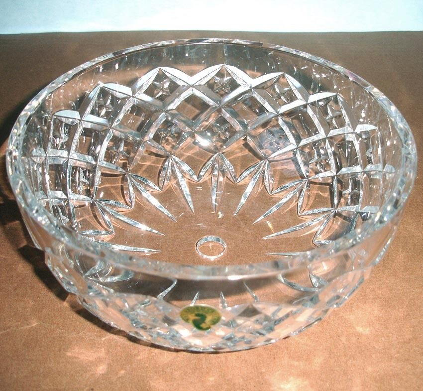 Waterford Crystal Crosswick 8 Quot Ceiling Light Fixture Shade Dome Bowl Shape New Ebay