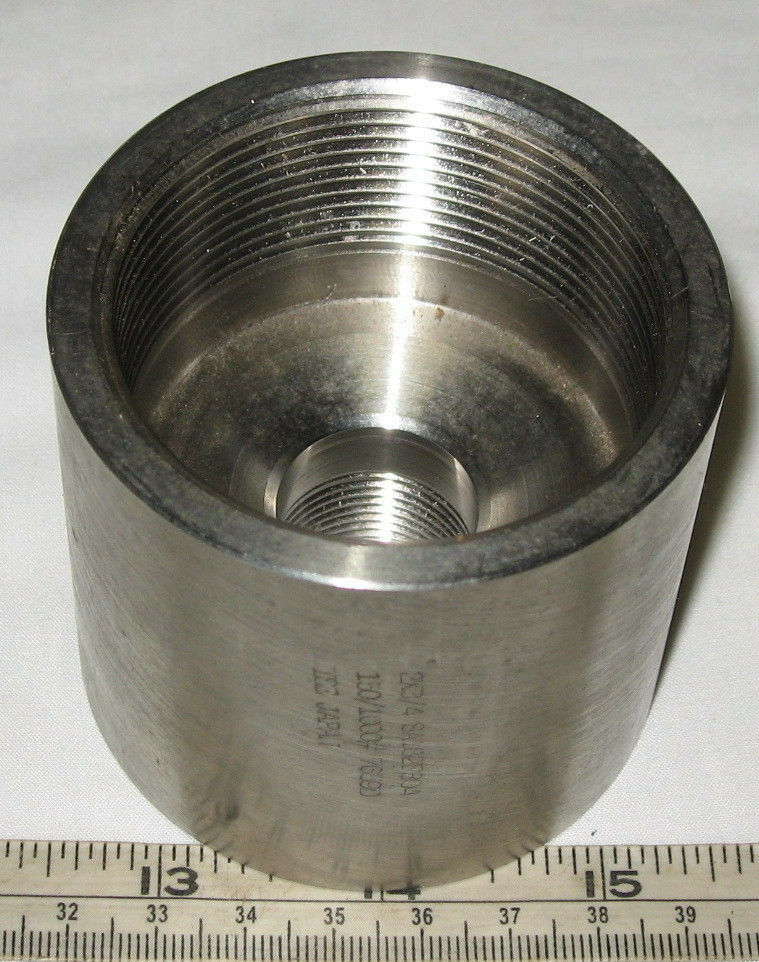 Stainless steel reducing coupling quot fnpt ebay
