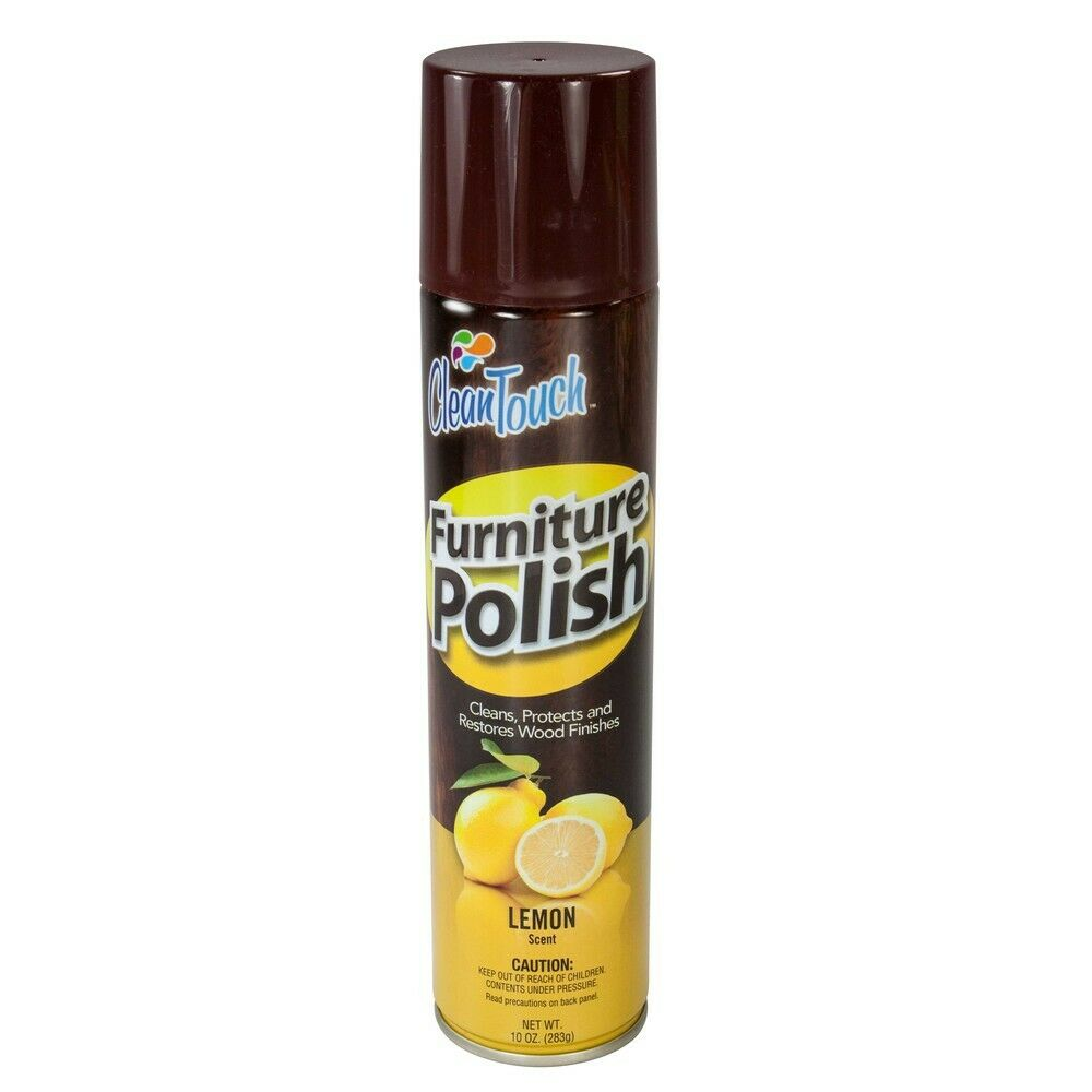 Clean touch 9670 lemon scent furniture polish spray ebay for Furniture wax