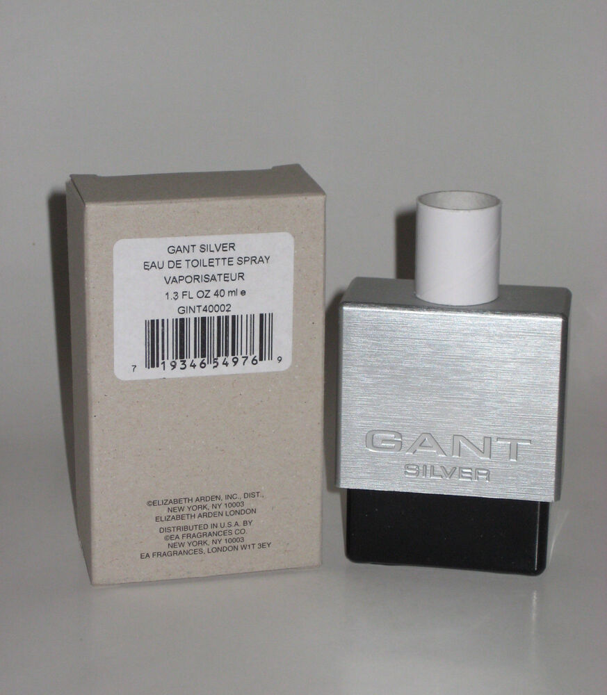 Elizabeth Arden Gant Silver Eau De Toilette 13 Oz 40 Ml Tester Benetton Cold Edt 100ml Original Free Vial Box No Cap 719346549769 Ebay