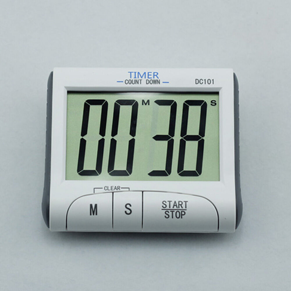 New Magnetic Large Digital LCD Display Count Down Kitchen