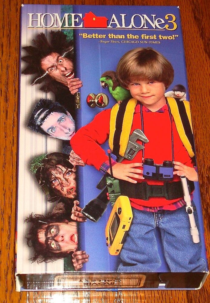 Home alone 3 vhs 86162276330 ebay for Home alone 3
