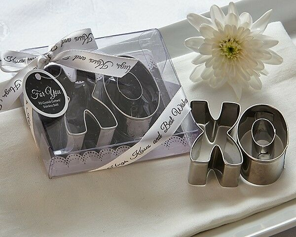 XO Best Wishes Cookie Cutters Bridal Shower Wedding Favors