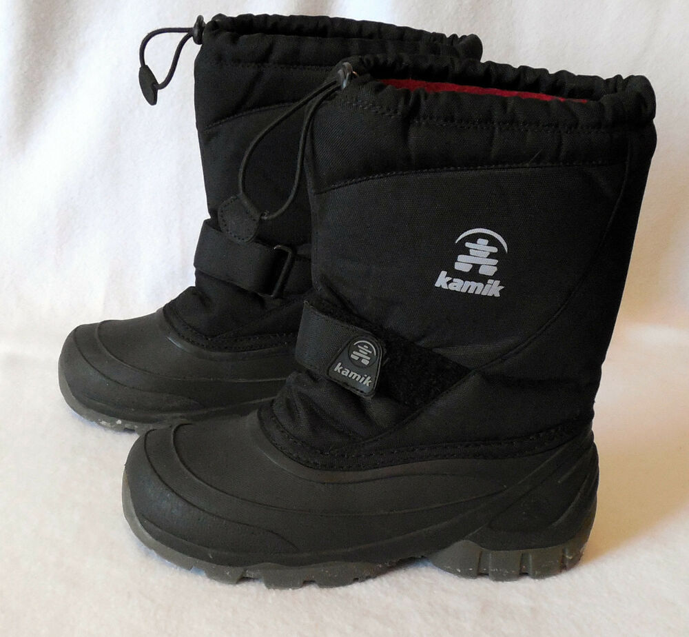 KAMIK Mens size 5 WINTER SNOW BOOT removable liners G118