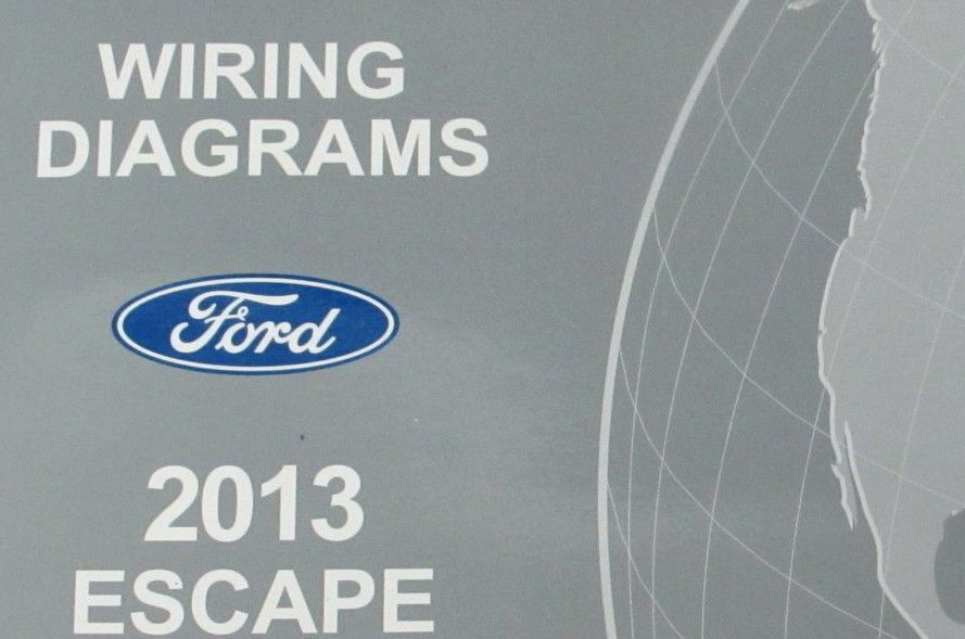 2013 Ford Escape Electrical Wiring Diagrams Diagram Service Manual Ewd