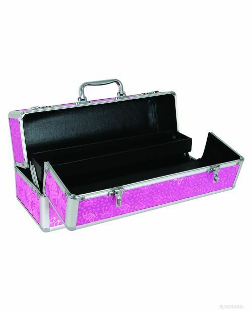 ADULT MASSAGE TOY LOCKABLE LARGE STORAGE CASE Pink