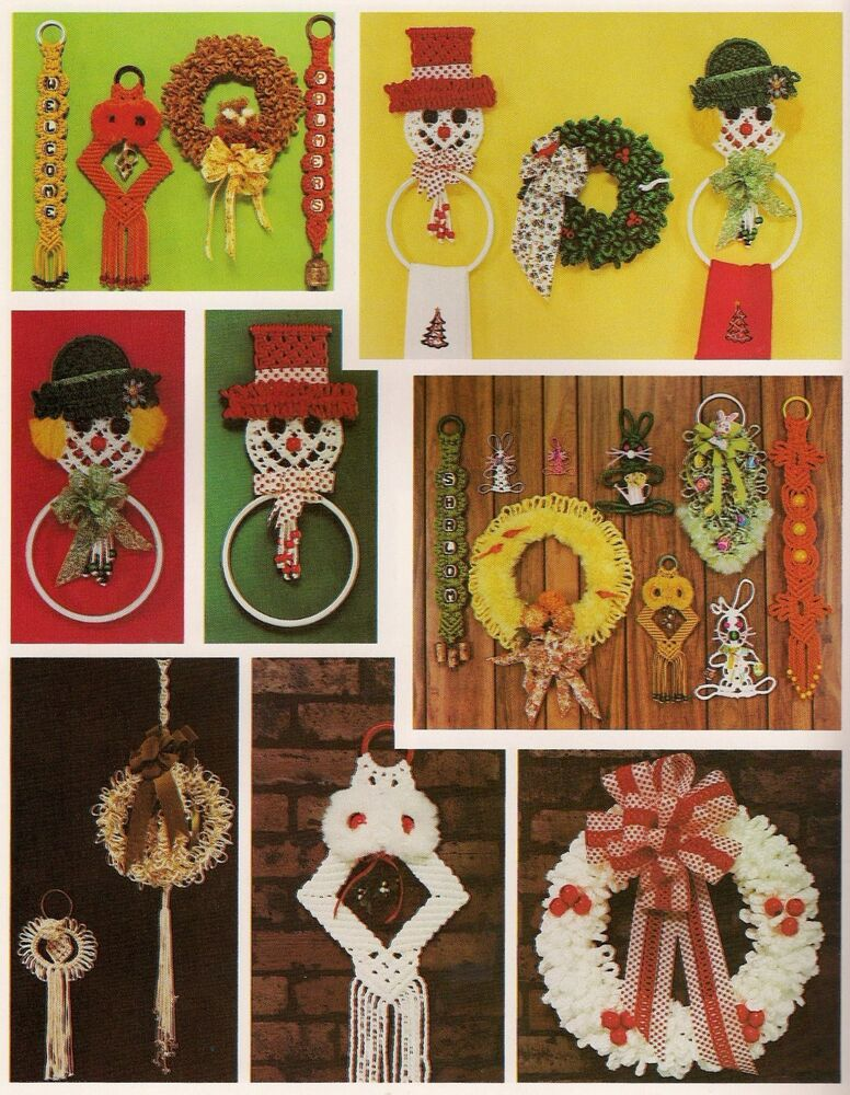 Holiday Hoot Macrame Owl Pattern In Tis The Season To Be