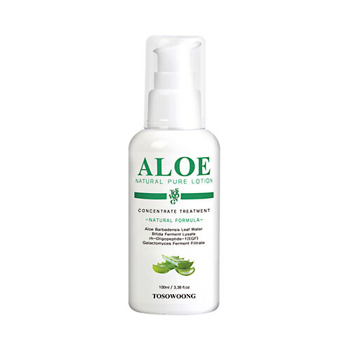 tosowoong aloe natural pure lotion 100ml ebay. Black Bedroom Furniture Sets. Home Design Ideas