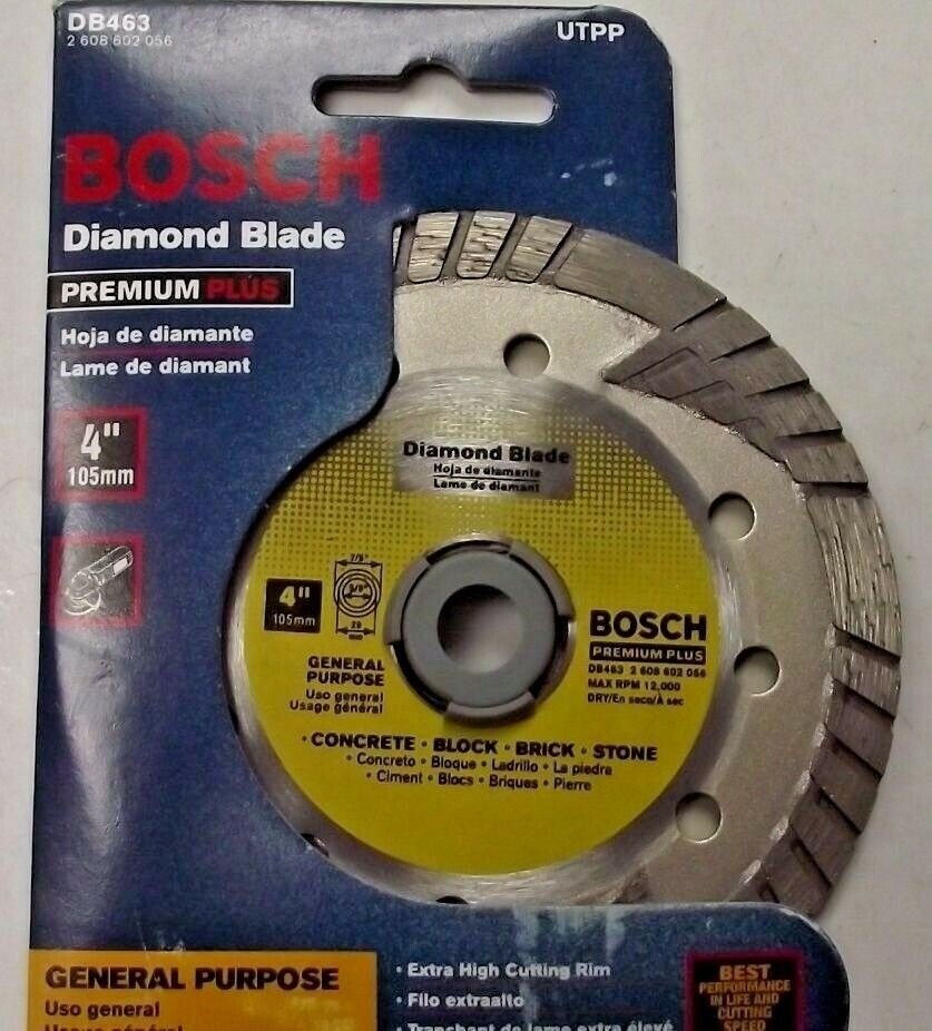 Bosch Db463 Premium Plus 4 Quot Turbo Continuous Rim Diamond