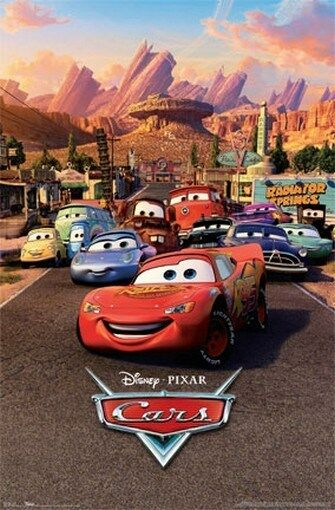 Image result for cars movie poster