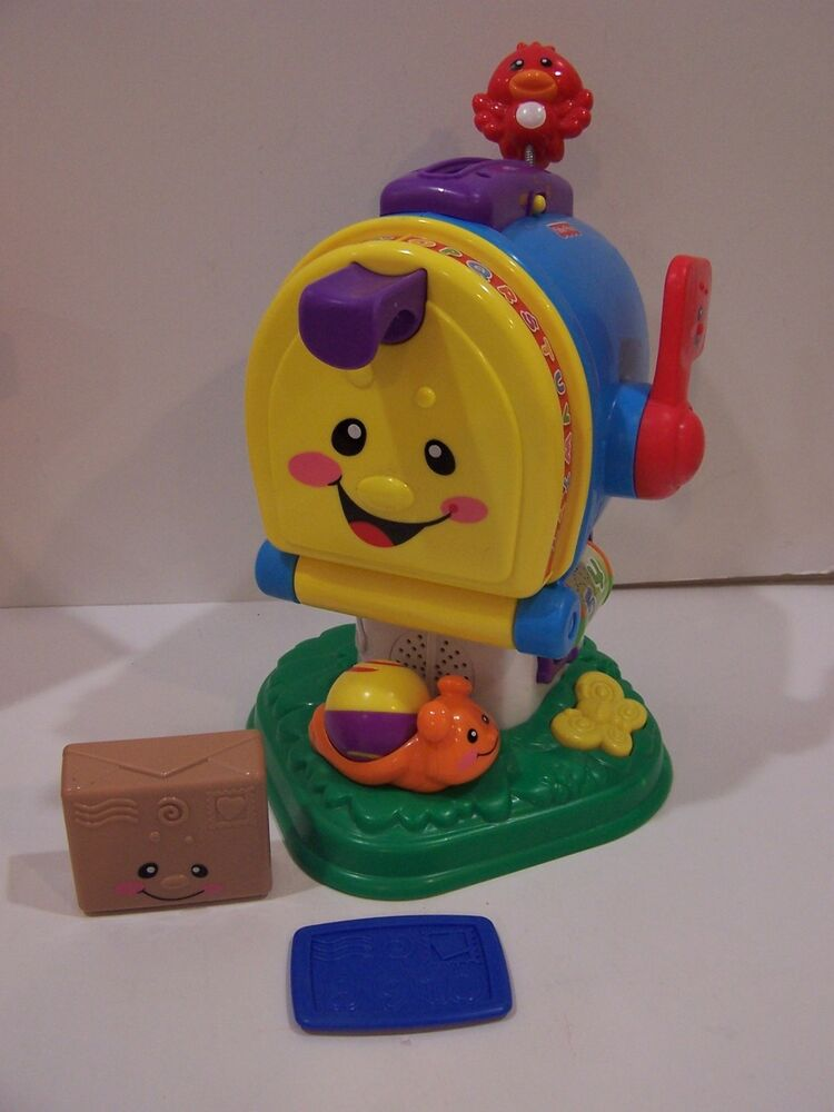 Fisher Price Baby Toys : B fisher price laugh learn letter mailbox talking numbers