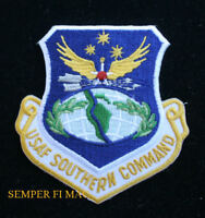 SOUTHERN COMMAND HAT PATCH US AIR FORCE PIN UP ALBROOK AFB VETERAN GIFT AFB WOW