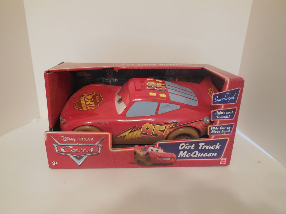 Disney Pixar Cars Lights And Sounds Dirt Track Lightin
