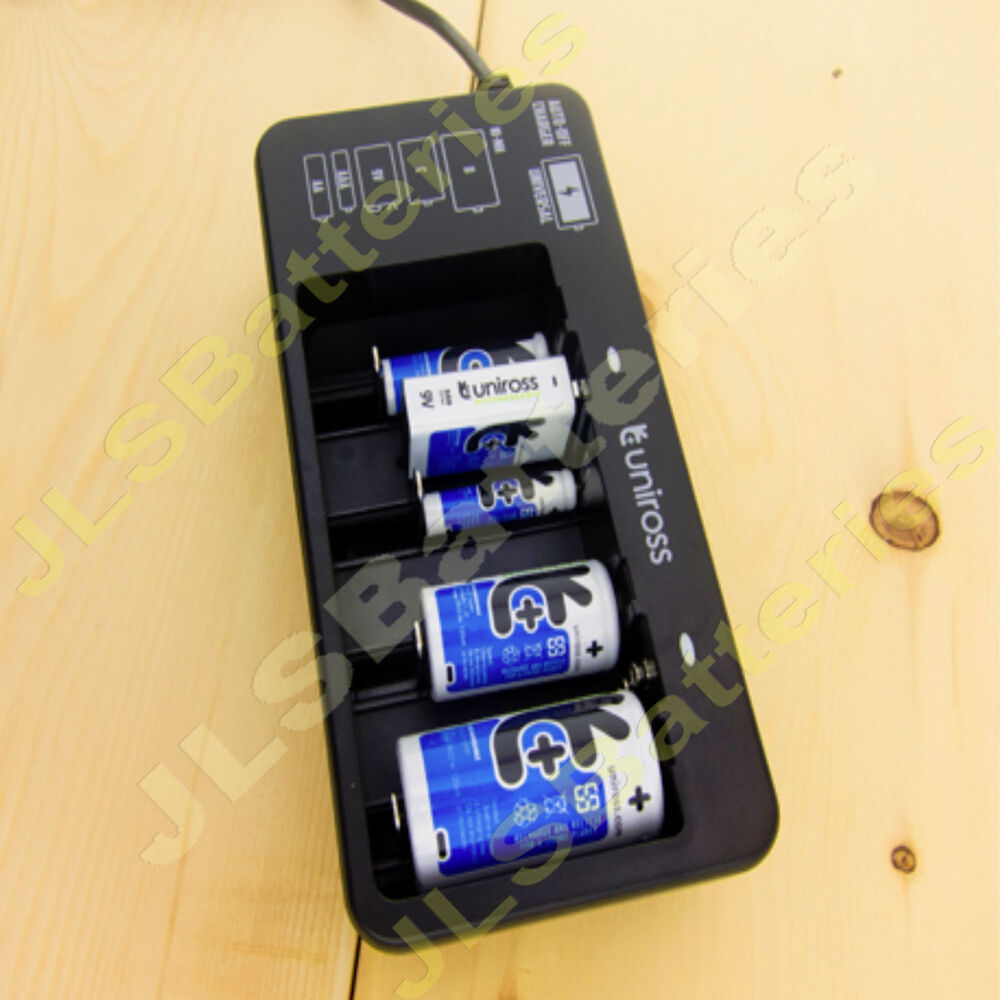 uniross 120 universal battery charger for aaa aa c d 9v. Black Bedroom Furniture Sets. Home Design Ideas