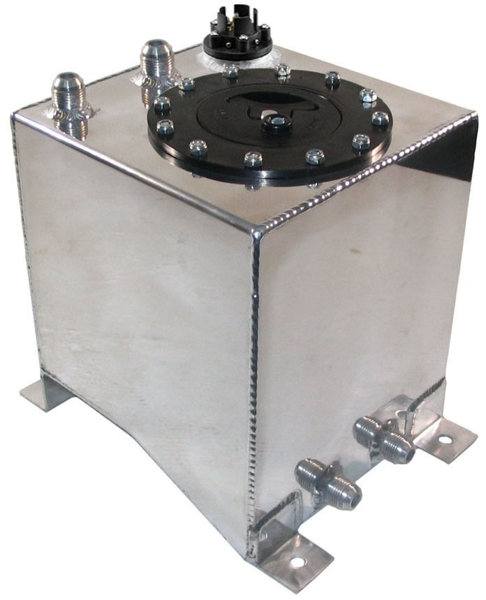New 2 1 2 Gallon Street Strip Aluminum Fuel Cell With