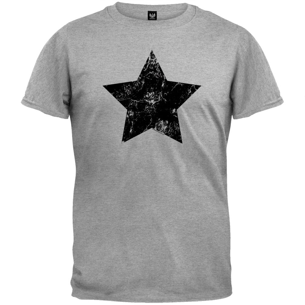 Old Glory Star Adult Mens T Shirt Ebay