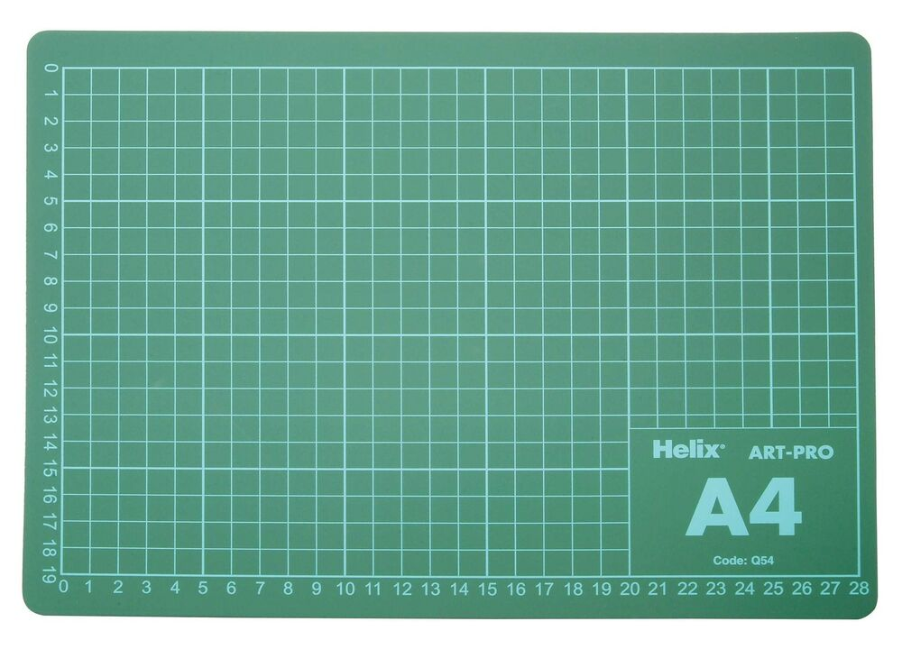 A4 Helix Cutting Mat Craft Board Self Healing Double Sided