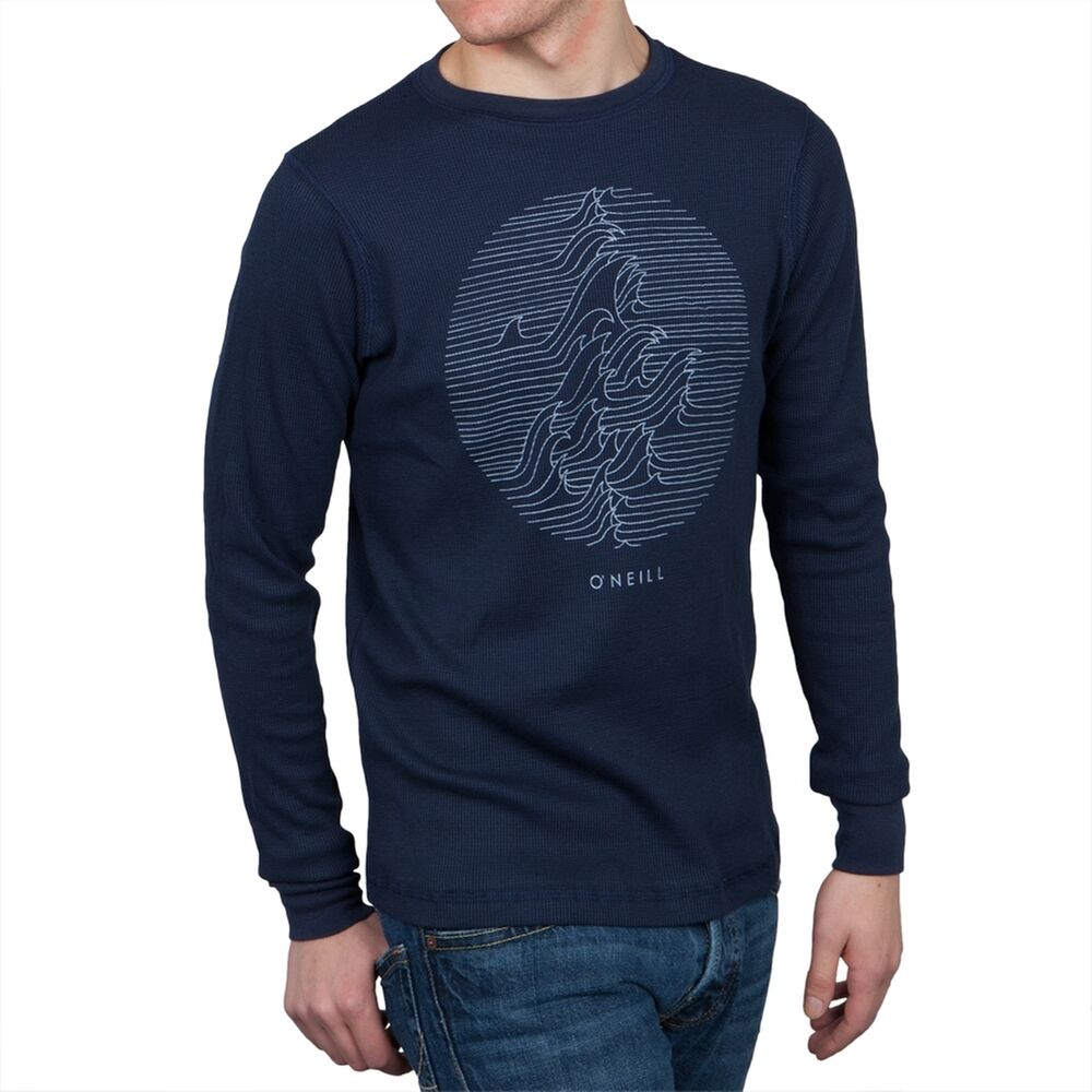 O 39 Neill Collide Graphic Navy Thermal Adult Mens Long