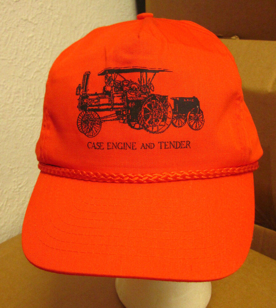 Tractor Shirts And Hats : Case engine tender international harvester hat tractor
